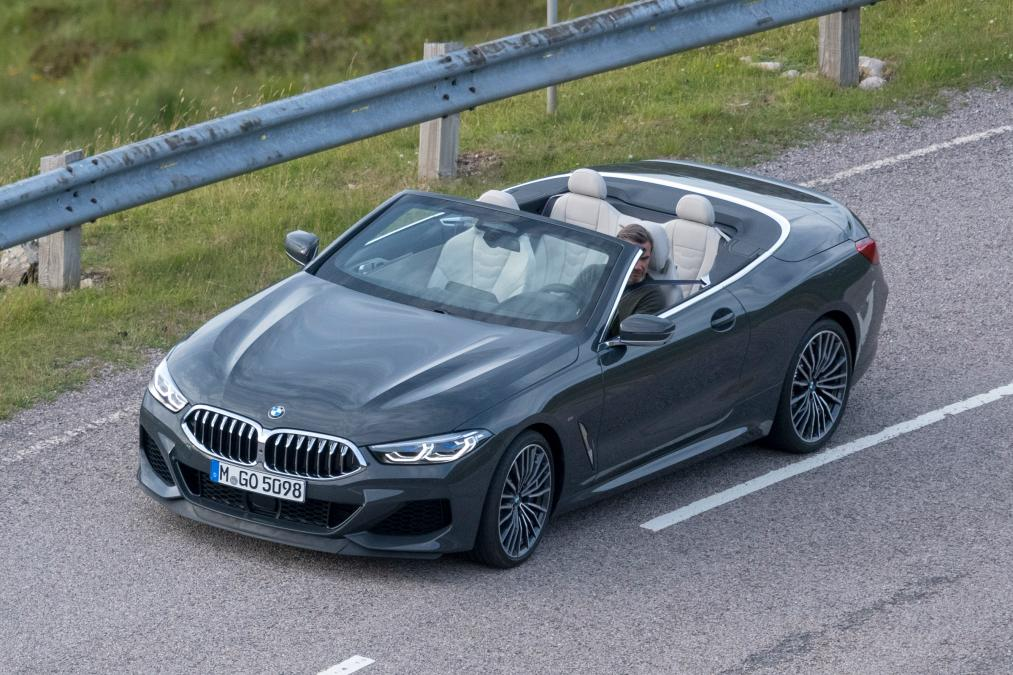 2019 Bmw 8 Series Convertible Images Leaked Suv News And