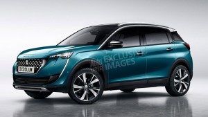 2019 Peugeot rendering by AutoExpress.