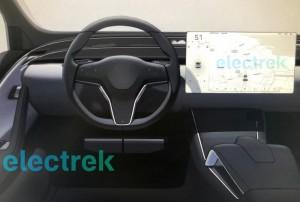 Tesla Model SX interior (1)