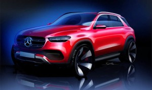 Mercedes-Benz GLE sketch