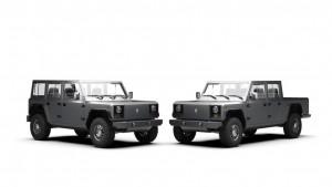 bollinger motors SUV and pickup truck (1)