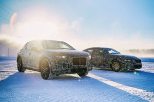 bmw inext and i4 prototypes