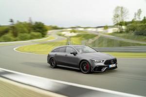 Der neue Mercedes-AMG CLA 45 4MATIC+ Shooting Brake The new Mercedes-AMG CLA 45 4MATIC+ Shooting Brake
