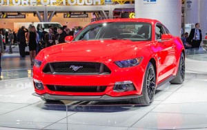 The current-gen Ford Mustang (S550)