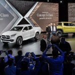 Mercedes-Benz Concept X-CLASS / Artipelag / Stockholm 2016