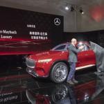 """Mercedes-Benz Vernissage """"Vision Mercedes-Maybach Ultimate Luxury"""" am Vortag der Auto China 2018, präsentiert von Gorden Wagener und Nicholas Speeks"""